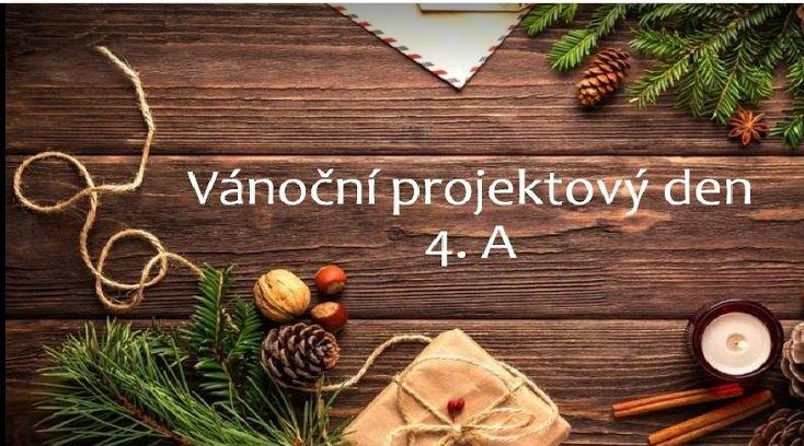 Vánoční projektový den ve 4. A